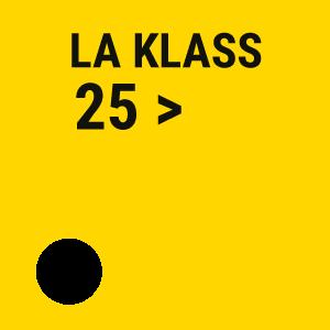 la klass maggiore di 25