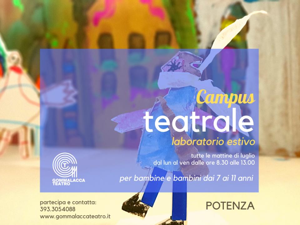 Campus Teatrale Gommalacca Teatro
