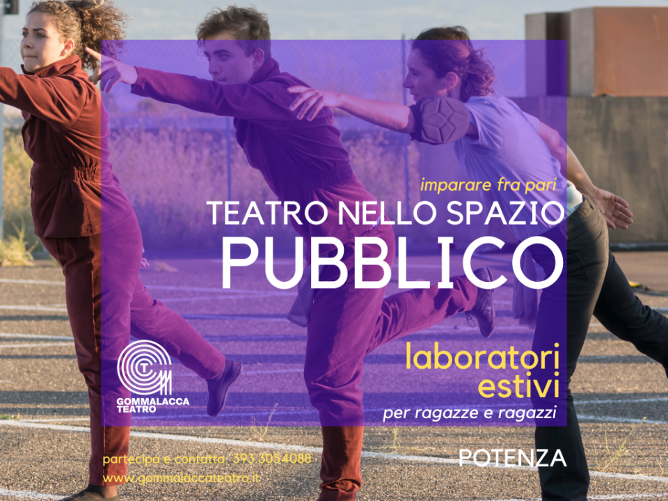 Teatro nello spazio pubblico Imparare tra pari